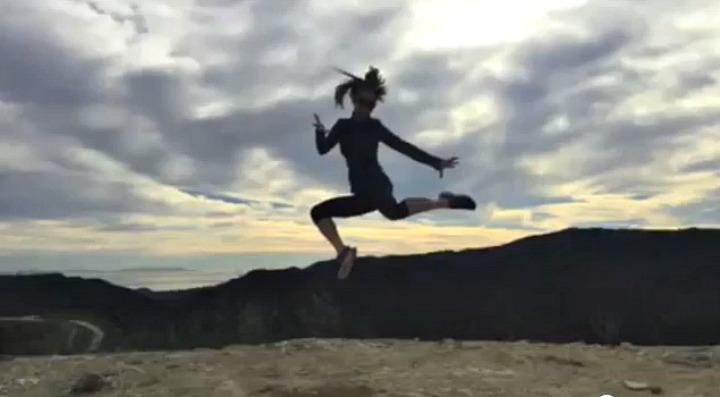 taking jumping photos