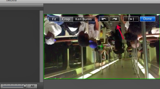 Imovie tutorial how to rotate a video ahimsa media editing in imovie ccuart Gallery