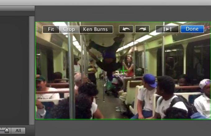 break dance on the subway