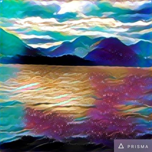 Prisma Coloured Sky Filter of Alouette Lake