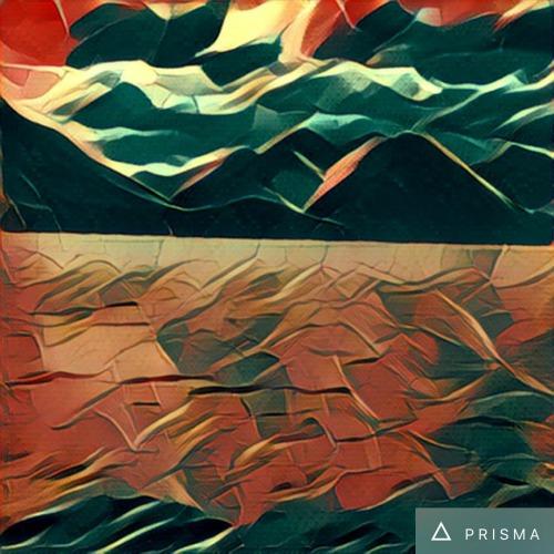 Prisma Dream Filter of Alouette Lake