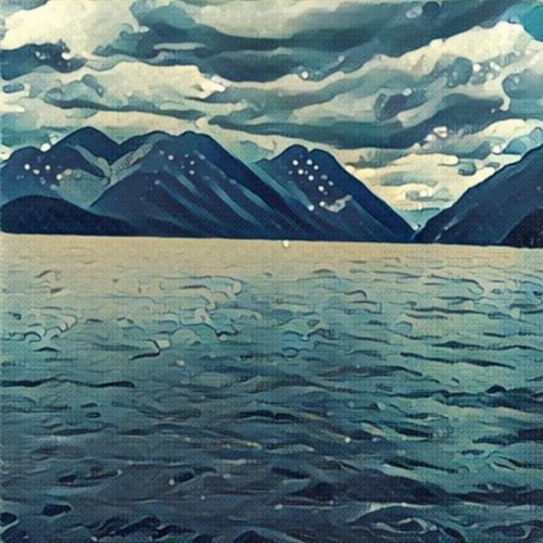Prisma Waves Filter of Alouette Lake