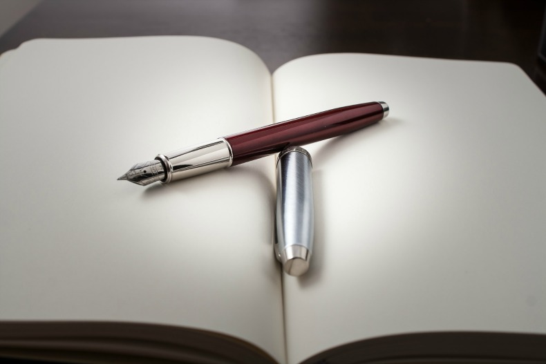 Pen and Paper, care of Dinuraj K.