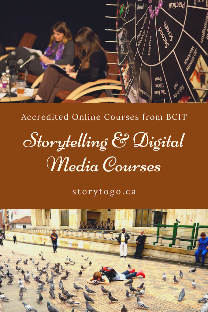 Storytelling and Digital Media Courses from BCIT